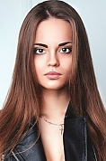 Ukrainian girl Anastasia,20 years old with brown eyes and black hair.