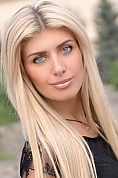 Ukrainian girl Tatyana,27 years old with blue eyes and blonde hair.