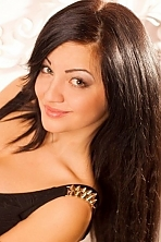 Ukrainian girl Ekaterina,24 years old with green eyes and black hair.