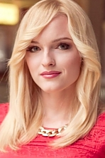 Ukrainian girl Anna,22 years old with blue eyes and blonde hair.