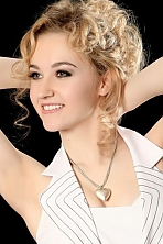 Ukrainian girl Ekaterina,20 years old with green eyes and blonde hair.