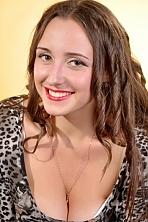 Ukrainian girl Elena,21 years old with brown eyes and dark brown hair.