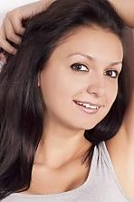 Ukrainian girl Lidia,23 years old with brown eyes and dark brown hair.