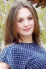 Ukrainian girl Alina,21 years old with green eyes and light brown hair.