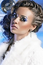 Ukrainian girl Valery,18 years old with green eyes and light brown hair.