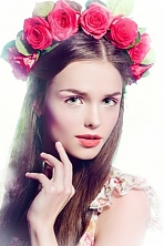 Ukrainian girl Zhenya,19 years old with brown eyes and light brown hair.