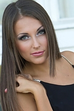 Ukrainian girl Yana,22 years old with green eyes and light brown hair.