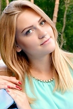 Ukrainian girl Kseniya,20 years old with green eyes and blonde hair.