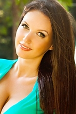 Ukrainian girl Valeriya,21 years old with green eyes and auburn hair.