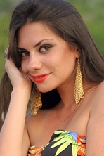 Ukrainian girl Ekaterina,28 years old with black eyes and light brown hair.