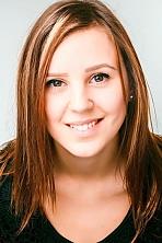 Ukrainian girl Vita,20 years old with brown eyes and dark brown hair.