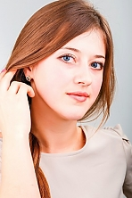 Ukrainian girl Ekaterina,25 years old with blue eyes and light brown hair.