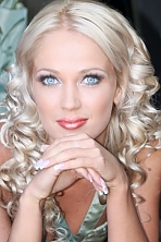 Ukrainian girl Marina,33 years old with blue eyes and blonde hair.