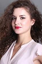 Ukrainian girl Viktoriya,22 years old with brown eyes and dark brown hair.