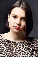 Ukrainian girl Aleksandra,20 years old with brown eyes and black hair.