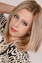 Ukrainian girl Anna,23 years old with green eyes and light brown hair.