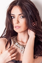 Ukrainian girl Kristina,26 years old with brown eyes and dark brown hair.