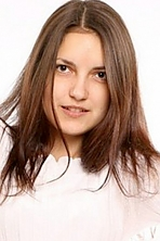 girl Yulya, years old with  eyes and  hair.