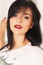 Ukrainian girl Elena,27 years old with black eyes and black hair.