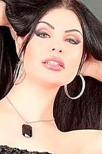 Ukrainian girl Olga,19 years old with brown eyes and black hair.