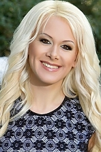 Ukrainian girl Christina,24 years old with blue eyes and blonde hair.