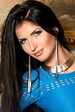 Ukrainian girl Yana,26 years old with blue eyes and black hair.