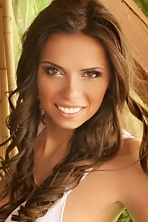 Ukrainian girl Irina,28 years old with hazel eyes and light brown hair.