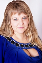 Ukrainian girl Tatyana,35 years old with blue eyes and blonde hair.