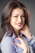 Ukrainian girl Marina,22 years old with brown eyes and dark brown hair.