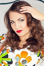 Ukrainian girl Viktoriya,22 years old with green eyes and light brown hair.