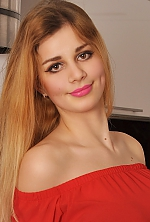 Ukrainian girl Daria,19 years old with brown eyes and light brown hair.