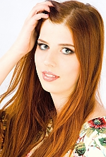 Ukrainian girl Alla,22 years old with blue eyes and light brown hair.