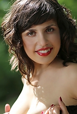 Ukrainian girl Katerina,25 years old with brown eyes and black hair.