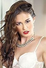 Ukrainian girl Alyona,24 years old with brown eyes and light brown hair.