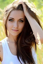 Ukrainian girl Ekaterina,21 years old with green eyes and black hair.