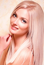 Ukrainian girl Anastasiya,24 years old with blue eyes and blonde hair.