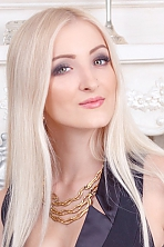 Ukrainian girl Alina,22 years old with green eyes and blonde hair.