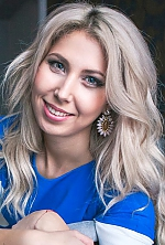 Ukrainian girl Alina,26 years old with green eyes and blonde hair.