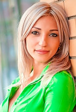 Ukrainian girl Evgeniya,28 years old with brown eyes and blonde hair.