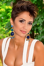Ukrainian girl Kristina,24 years old with brown eyes and light brown hair.