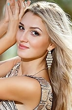 Ukrainian girl Anastasia,23 years old with brown eyes and blonde hair.