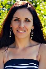 Ukrainian girl Viktoria,29 years old with blue eyes and black hair.