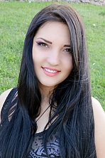 Ukrainian girl Olesya,18 years old with brown eyes and black hair.