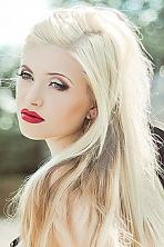 Ukrainian girl Elvira,24 years old with blue eyes and blonde hair.