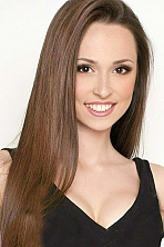 Ukrainian girl Anastasia,19 years old with hazel eyes and dark brown hair.