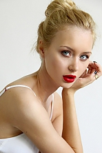 girl Polina, years old with  eyes and  hair.