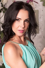 Ukrainian girl Vitalina,44 years old with  eyes and  hair.