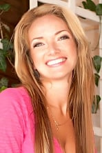 Ukrainian girl Katerina,32 years old with grey eyes and blonde hair.