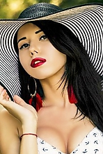 Ukrainian girl Ekaterina,26 years old with green eyes and black hair.