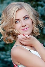 Ukrainian girl Valentina,26 years old with blue eyes and blonde hair.